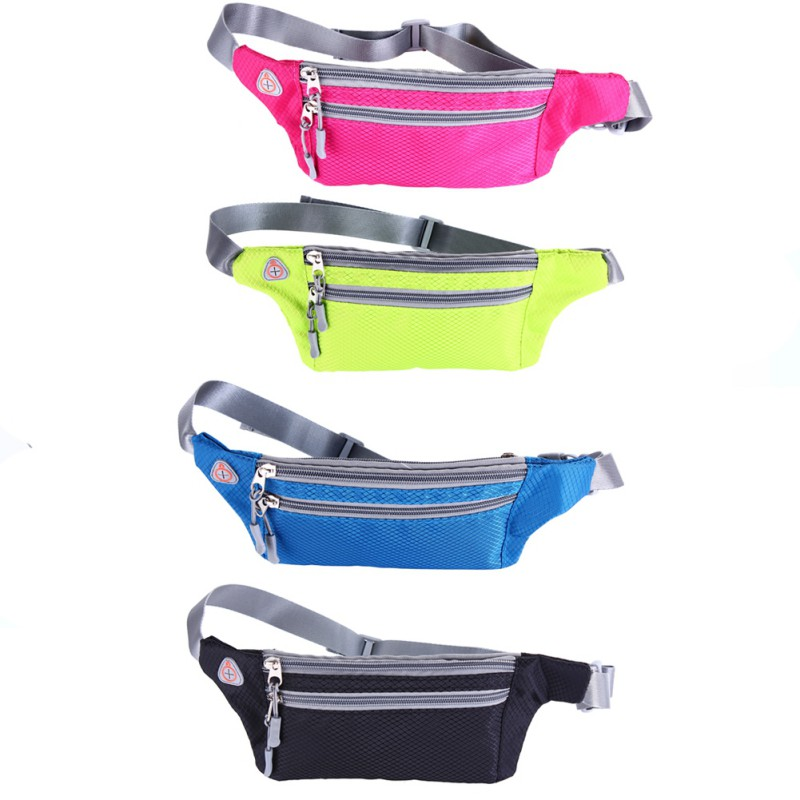Running Jogging GYM Mobile Phone Bag Sports Wrist Bag Arm Bag Outdoor Waterproof Nylon Personal Pocket Phone Hand Bag