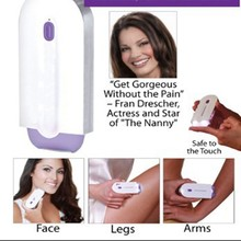 Women's Epilator Blu-ray Induction Shaver Laser Painless Shaving Instrument