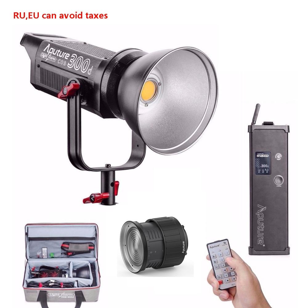 Aputure LS C300D COB 300d свет шторм дневные, светодиодные видео