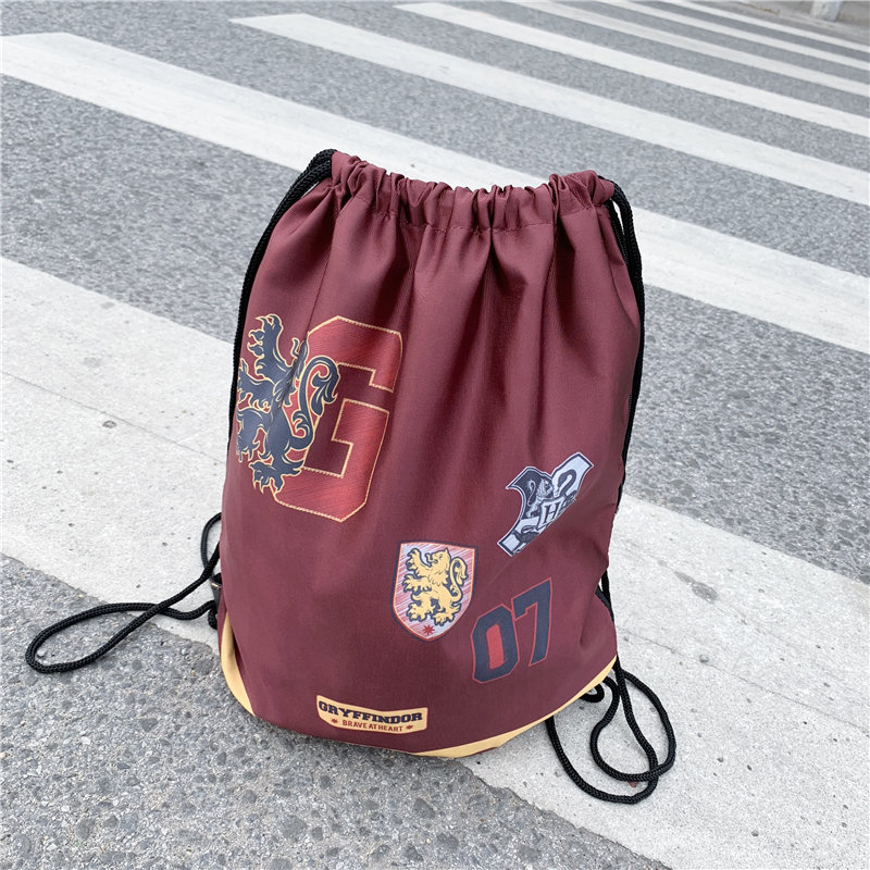 Gryffindor Print Drawstring Backpack Bag ghtweight Travel Bags Cosplay Cosplay Backpack Beach Bag Shoes Pouch GiftGryffindor Print Drawstring Backpack Bag ghtweight Travel Bags Cosplay Cosplay Backpack Beach Bag Shoes Pouch Gift
