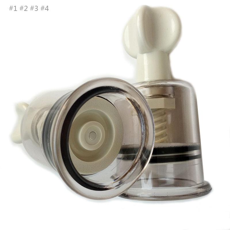 4Size Option Nipple Sucker Body Massage Breast Stroker -2862