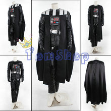Star Wars Episode V The Empire Strikes Back Darth Vader Anakin Cosplay Suit Full Set Halloween Costumes