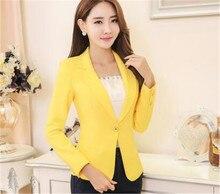 d78ecfa2ee7c24 Galeria de yellow blazer plus size por Atacado - Compre Lotes de ...