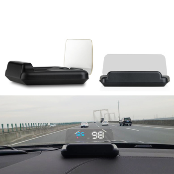 C500 OBD2 HUD Head-Up Display with Mirror Digital Car Speed Projector Computer Fuel Mileage Car Styling