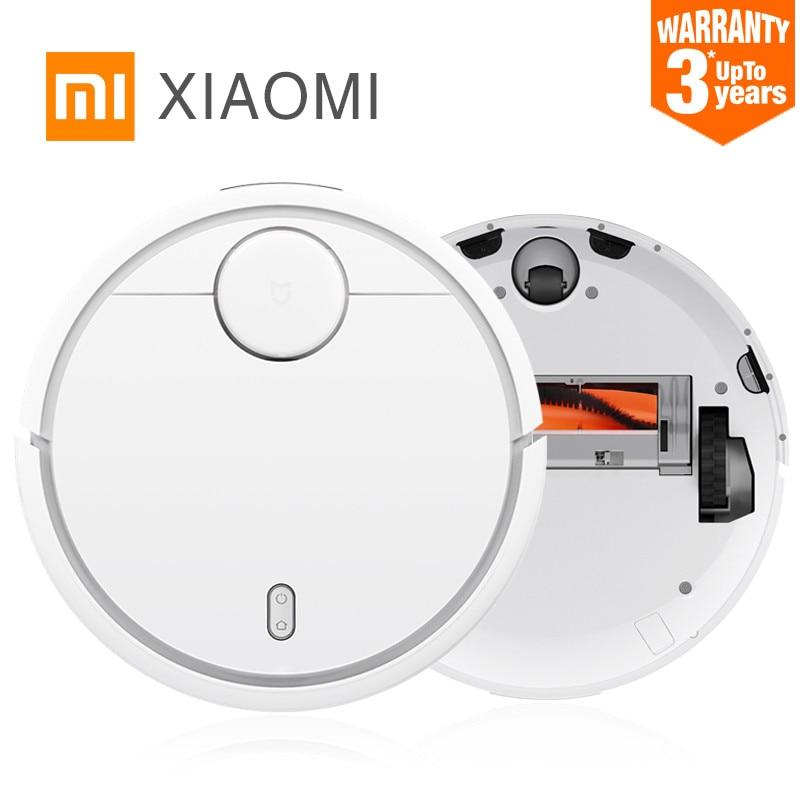 3 anni di garanzia! Originale Xiaomi Spazzare Robot Intelligente Robot Domestico Intelligente Automatico Efficiente Aspirapolvere APP di Controllo