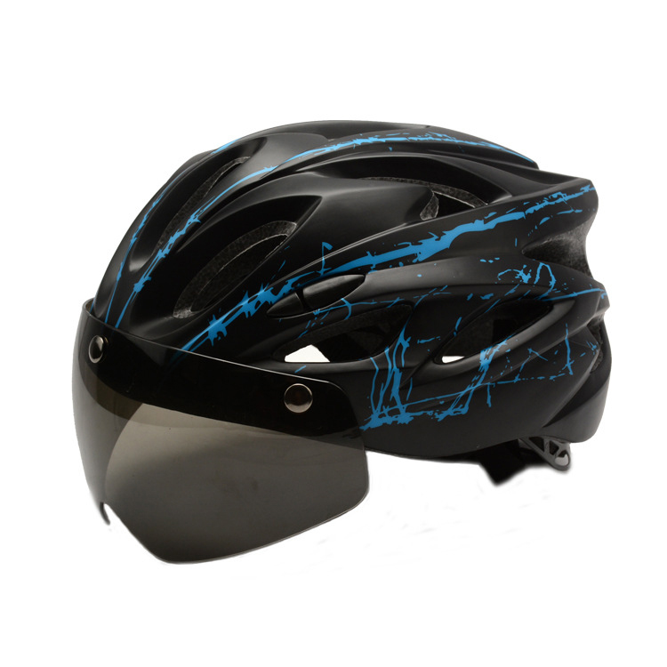 Bicycle Helmets Mountain-Road-Bike Adults PC Lightweight Safety Breathable Cool Black