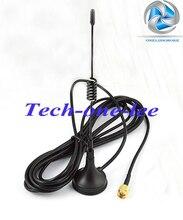 5 dbi 433 Mhz GSM Antena SMA Conector Macho Recto con la base Magnética para el Jamón Amplificador de Señal de Teléfono Móvil Inalámbrico repetidor(China (Mainland))
