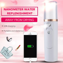 USB Portable Nano Mist Sprayer Spa Machine Facial Nebulizer Steamer Moisturizing Skin Care Mini Face Spray Beauty Instruments цена