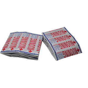 100 قطع الفرقة المساعدات الجرح الضمادات المعقمة الإرقاء ملصقات الأولى ضمادة إسعافات كعب وسادة ضمادة لازقة عشوائي اللون Z37001