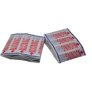 Image 2 - 100Pcs להקת סיוע פצע תחבושות סטרילי עצירת דימום מדבקות העזרה הראשונה תחבושת העקב כרית דבק טיח אקראי צבע Z37001