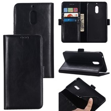 Leather Wallet Case for Nokia 6 5 3 Magnetic Flip with Cards Slot Cash For Nokia6 Phone Cover Coque