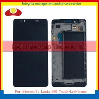 10Pcs Lot DHL High Quality For Nokia Microsoft Lumia 950 Full Lcd Display With Touch Screen