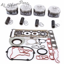 KEOGHS Pin 23mm Engine Cylinder Head Gasket Oil Seal Piston & Ring Kit 06H 107 065 DD For Audi A4 Q5 VW Passat Jetta Skoda 2.0T