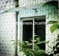 YP 80120 80x120 cm 31.5x47in policarbonato toldo da janela e da porta do jardim ao ar livre usado, barato DIY PC dossel