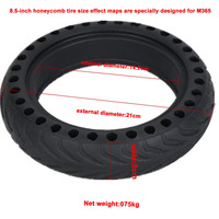Newly Solid Wheel Tire Scooter Replacement Tyre for Xiaomi Mi M365 Electric Scooter BFE88