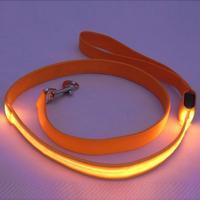 Fashion Productos Para Mascotas Colorful LED Light Dog Leash Night Safety Walking Training Pet Lead Leashes
