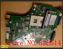 original Laptop Main Board For Toshiba C600 Series MOTHERBOARD DDR3 HM55 V000238030 6050A2381501-MB-A02 100% Test ok