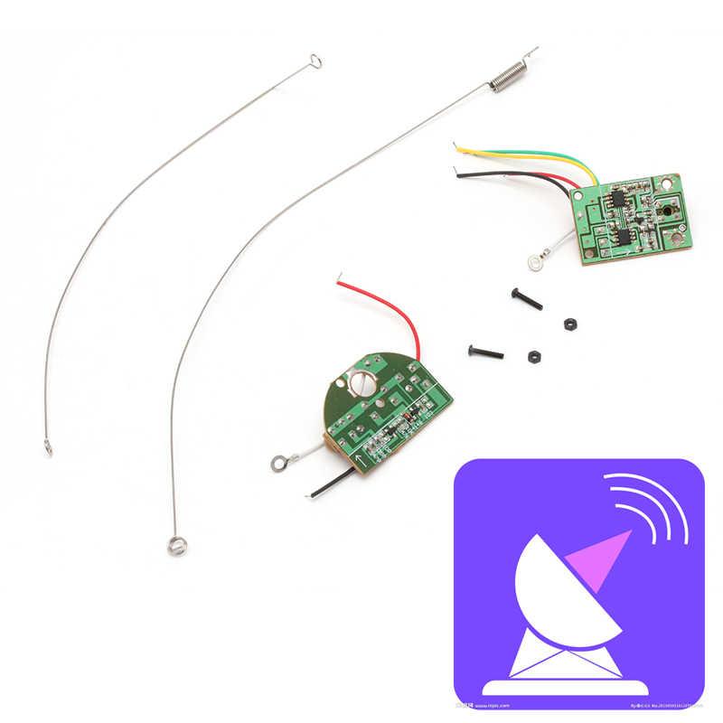 2CH удаленного Управление 27 мГц канала радио модуль передатчик приемник доска разъем антенны