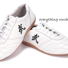 Обувь Tai Chi из натуральной кожи; ушу; кунг-фу; обувь унисекс