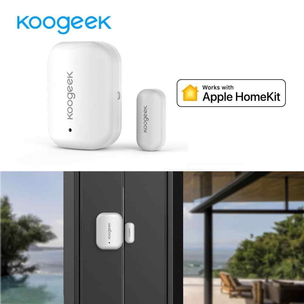 Koogeek Smart Deur/Raam Sensor Home Security Alarmsysteem Wireless Home App Remote Toegang Voor Apple Homekit Automatische Trigger