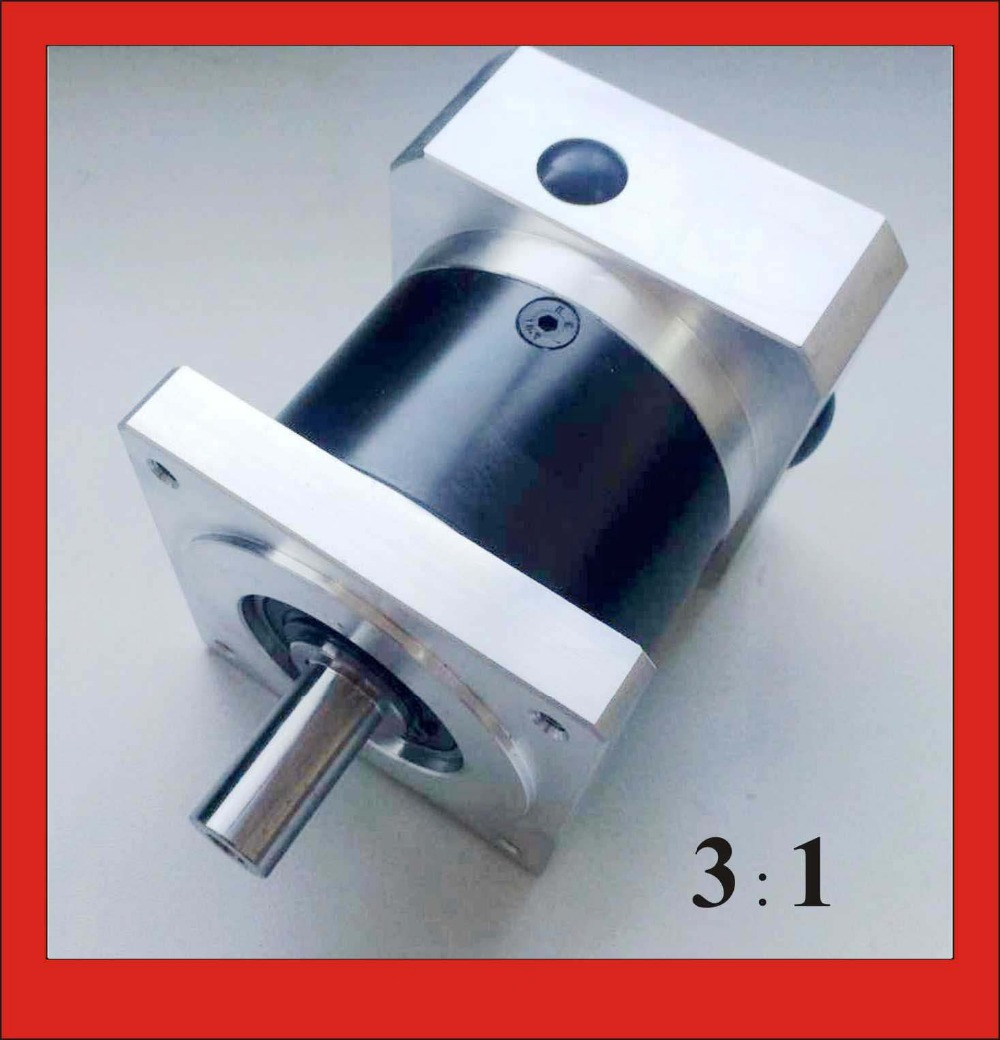 Long Life 3:1 NEMA34 Planetary Gearbox for Gear Stepper Motor 50N.m (6944oz-in) Rated Torque 14mm Input 16mm Output цена