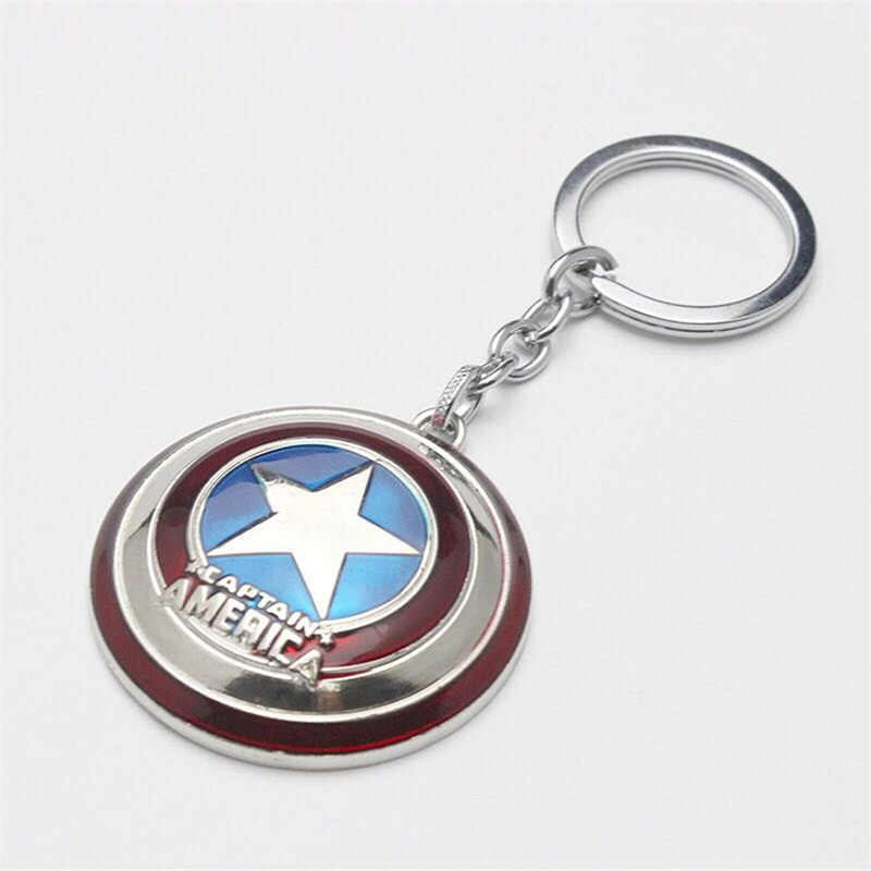Cosplay Keychain Child Captain America Shield Hero Security Shield Child Toy Gift Halloween Unisex Weapons Armor