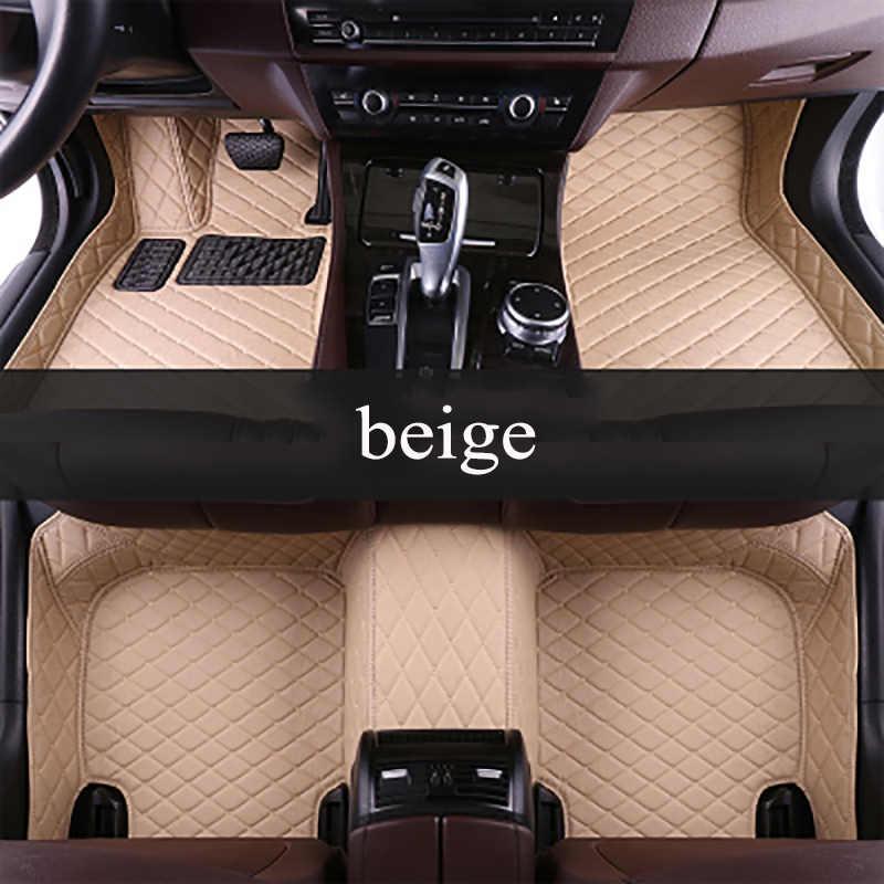 Kalaisike niestandardowe dywaniki samochodowe do Renault wszystkie modele kadjar fluence Captur Laguna Megane szerokość geograficzna akcesoria samochodowe stylizacja