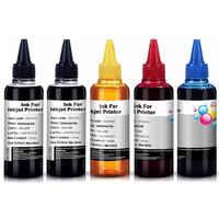 500ML Universal Refill Ink kit for Epson Canon HP Brother Lexmark DELL Kodak Inkjet Printer CISS Cartridge Printer Ink Dye-based