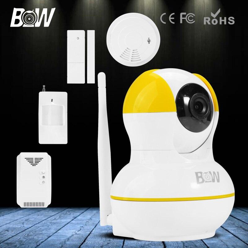BW IR CCTV WiFi Wireless IP font b Camera b font Motion font b Door b