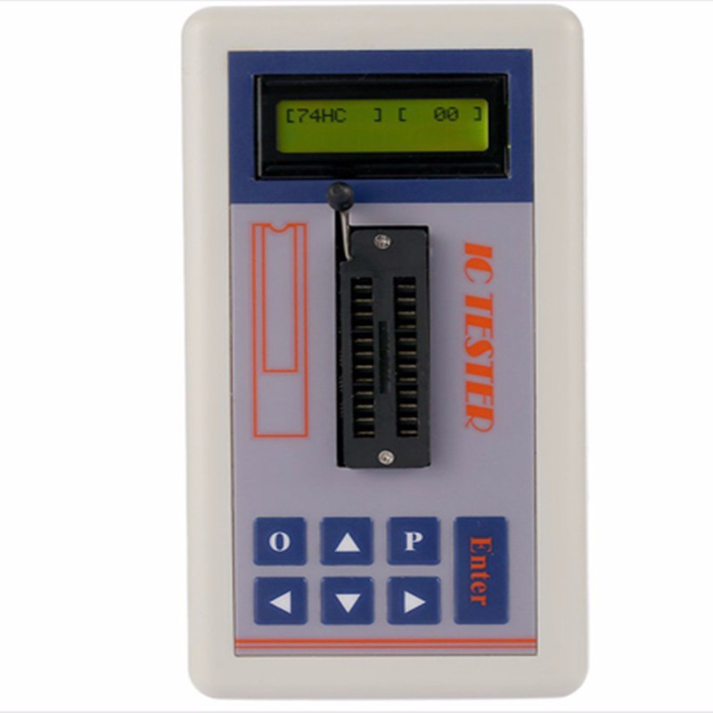 Multi-functional Transistor Tester Integrated Circuit IC Maintenance Tester 1602 LCD Display Durable Quality favourite 1602 1f