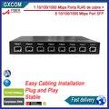 HS1100    10/100/1000M     8-Port Gigaibt SFP port, with 1 port 10/100/1000M RJ45 Ethernet Ports Media Converter