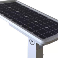 Most Popular new design IP65 high efficiency solar street light with battery backup 60W