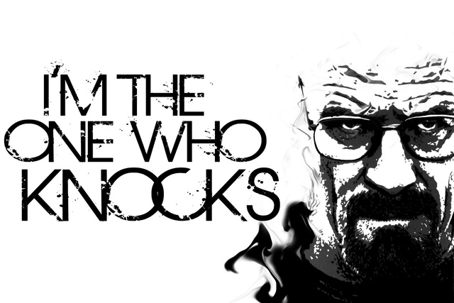 breaking bad monochrome walter white heisenberg the one who knocks ...
