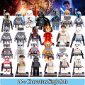 1PC Star wars Princess LEIA Yoda 501st Legion Troopers Darth Vader Shadow ARF Trooper Building Blocks Bricks Kids Diy Toys