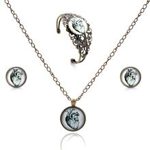 Серьги гвоздики lureme time gem series стеклянные серьги с полым
