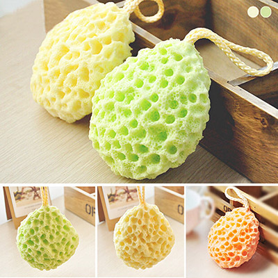 Face Cleaning Sponge Wholesale Bath Scrubber Shower Spa Sponge Body Cleaning Scrub Sanitary Ware Suite Hot Sale