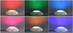 Image 5 - 12 V Marine Boot Kunststoff LED Unterwasser Licht RGB 6 W 24 W Schwimmen Pool Dekoration Lampe IP68 Wasserdicht