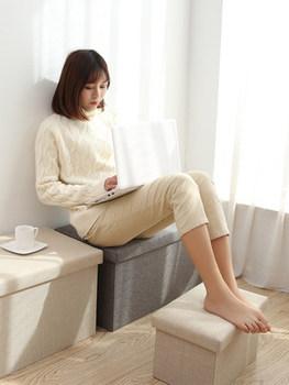 Bawełna prostokątny taboret do przechowywania stołek może siedzieć sofa dla dorosłych stołek ławki na buty domowe pudło do przechowywania wielofunkcyjny tanie i dobre opinie Meble do domu Salon krzesło Meble do salonu Rozrywka krzesło Nowoczesne 40 X 25 X 25CM HP-2018-07-02-06-57 Minimalistyczny nowoczesny