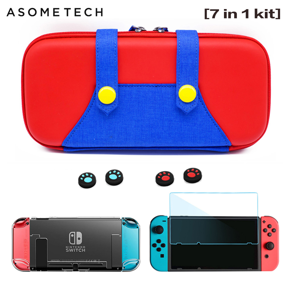 Portable Case for Nintend Switch Storage Bag Hard Shell Pouch for Nitendo Switch NS Console Accessories Travel Case Thin Bag NX(China)