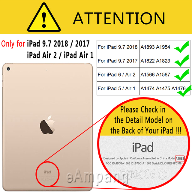 Smart Leather Case Cover for iPad  5