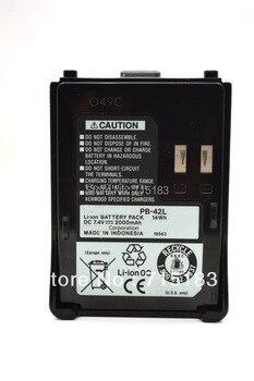 PB-42L 1550mAh DC 7.4V Li-ion Battery Pack for Kenwood TH-F6 TH-F6A TH-F6E TH-F7 TH-F7A TH-F7E фото