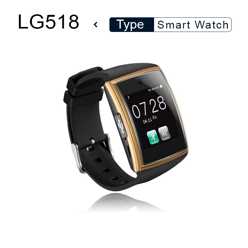 Smart Watch lg518 with Camera 3D Surface IPS Bluetooth3.0 NFC Support Sim TF Card Pedometer Sleep Monitor Waterproof Smartwatch