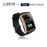 Smart Watch lg518 with Camera 3D Surface IPS Bluetooth3.0 NFC Support Sim TF Card Pedometer Sleep Monitor Waterproof Smartwatch