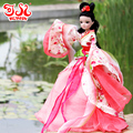 "Free shipping 29cm11"" Chinese mythicalBegonia Flower Fairy Kurhn doll Toys for girls Holiday and birthday gifts Home Decoration"
