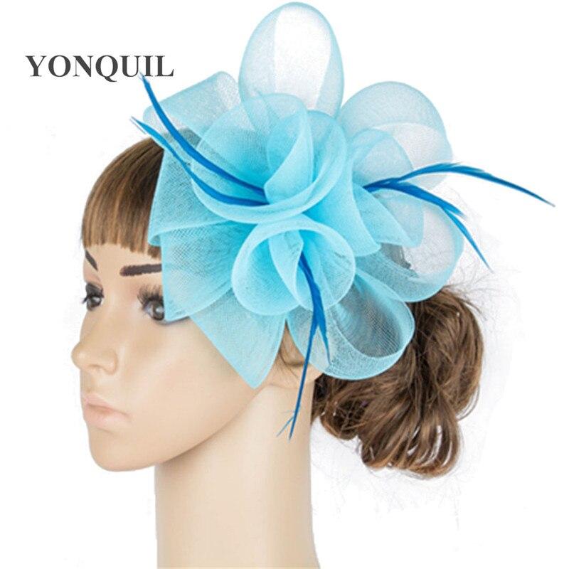 ⊰Manera de múltiples colores crinolina fascinator headwear colorido ...