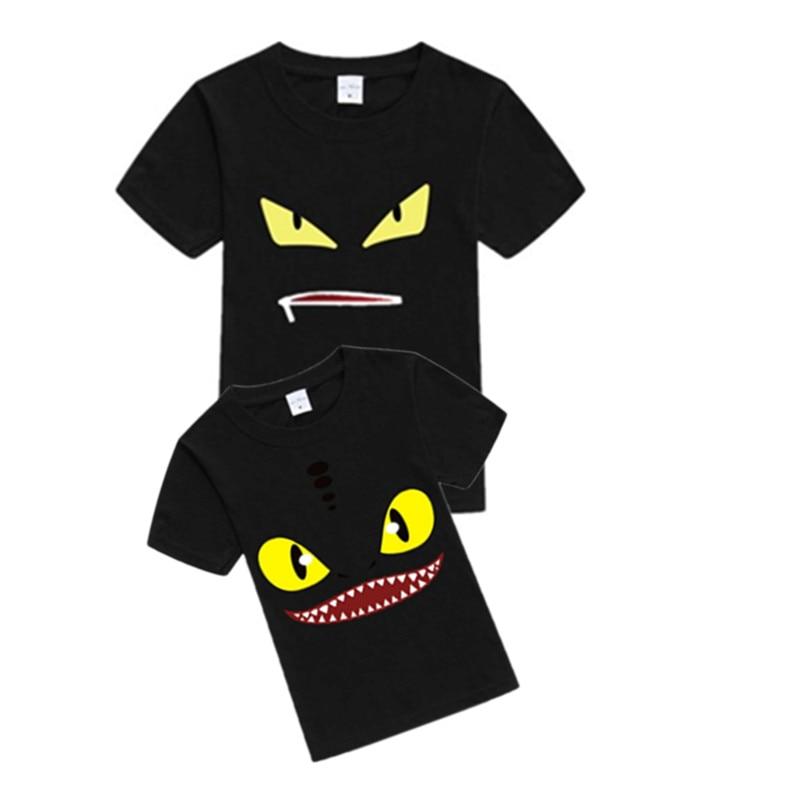 2019 Neuer Stil Kind Baby Junge T-shirt Monster Auge T-shirt Top Digital Print Sommer Kleidung Weiche Baumwolle 2-14y Dauerhafter Service