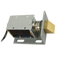 DC 12V открытая рамка Тип электромагнитный клапан для электрической дверной замок серебро