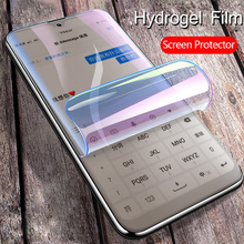 soft full cover hydrogel film for iphone 7 8 plus 6 6s plus x xs max xr protective film phone screen protector Not on Glass