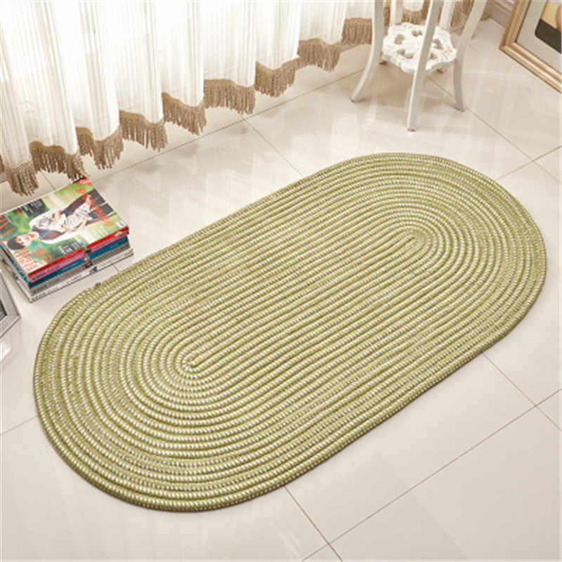 Hand Woven Tapis Rond Living Room Carpet Area Rug Alfombras Coffee
