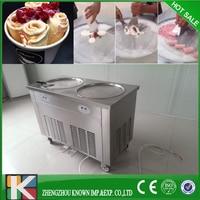 Thailand fry ice cream machine ice roll pan machine icecream roll machine
